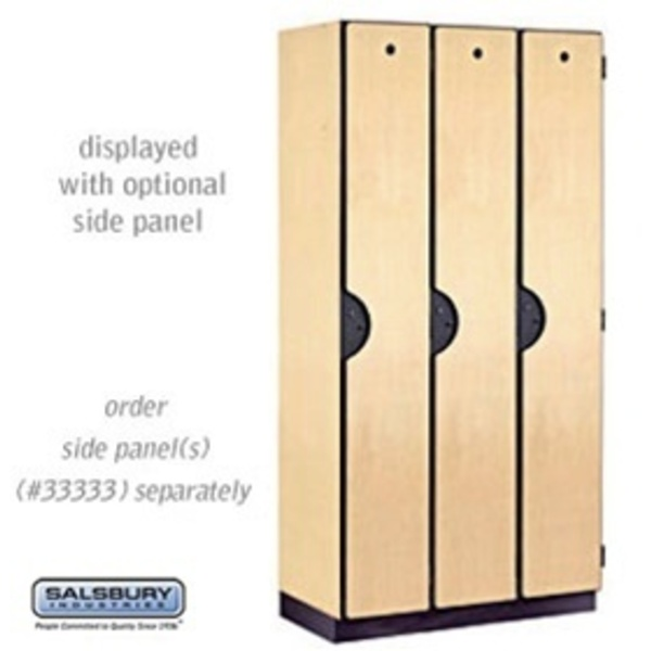 "Single Tier Designer Locker - 3 Lockers Wide - 6' High X 18"" Deep"