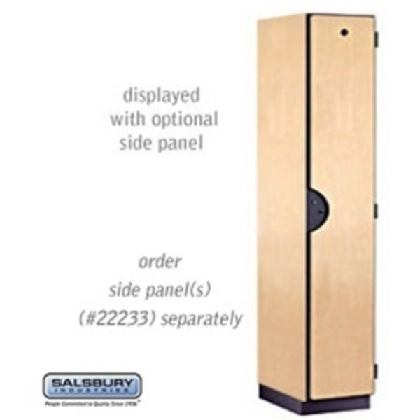 "Single Tier Extra Wide Designer Locker - 1 Locker Wide - 6' High - 18"" Deep"
