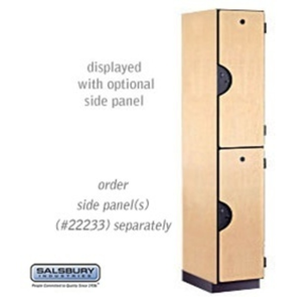 "Double Tier Extra Wide Designer Locker - 1 Locker Wide - 6' High - 18"" Deep"