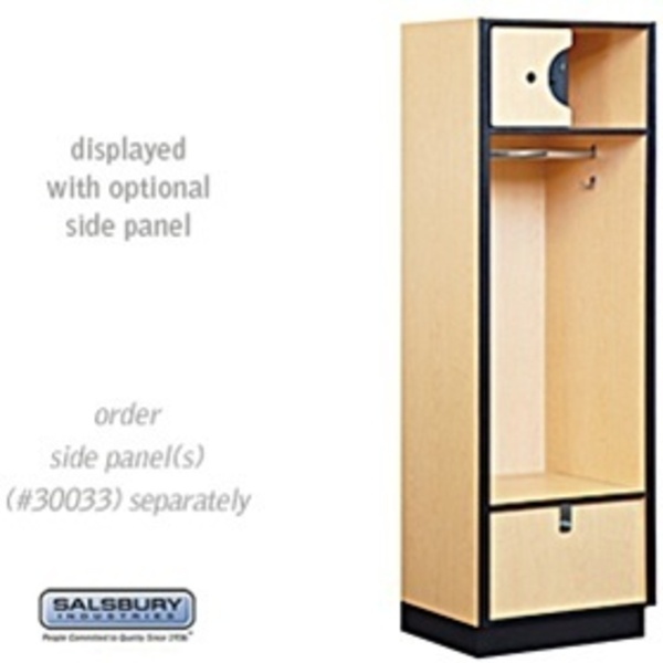 "Open Access Designer Locker - 6' High - 18"" Deep"