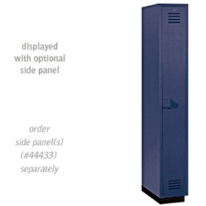 "Single Tier Heavy Duty Plastic Locker - 1 Locker Wide - 6' High - 18"" Deep"
