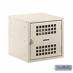 "Modular Locker - Standard Door - 12"" Cube"