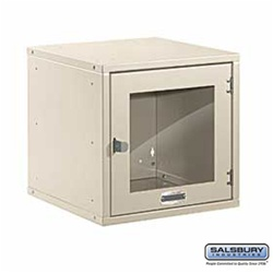 "Modular Locker - Window Door - 12"" Cube"