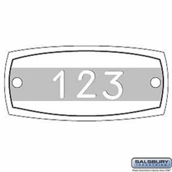 Name/Number Plate - Engraved
