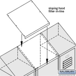 Sloping Hood Filler - In-Line