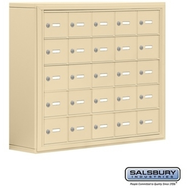 "Cell Phone Storage Locker - 25  ""A"" Doors - Door Size: 6.5""W x 5.25""H / Master Keyed Locks"