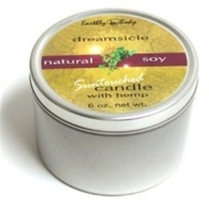 Earthly Body Suntouched Body Candle - Dreamsicle