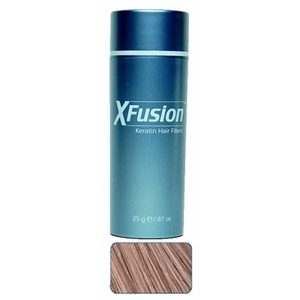 XFusion Keratin Hair Fibers - Light Brown 25 gra