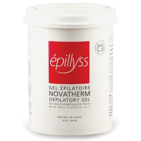 Epillyss Novatherm Wax Depilitory Gel with Essenti