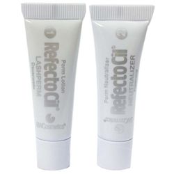 RefectoCil Eyelash Perm Refill - LashPerm (3.5 mL) + Neutralizer (3.5 mL) ONLY