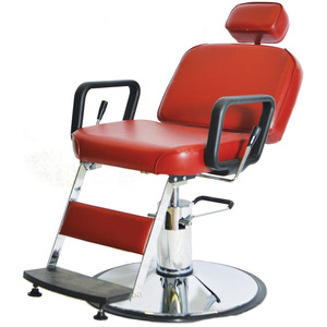 "Prince Hydraulic Barber Chair with 27"" Base Heavy Duty Hydraulic Pump (4391D)"