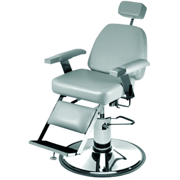 "Duke Hydraulic Barber Chair with 27"" Base Heavy Duty Hydraulic Pump (651)"