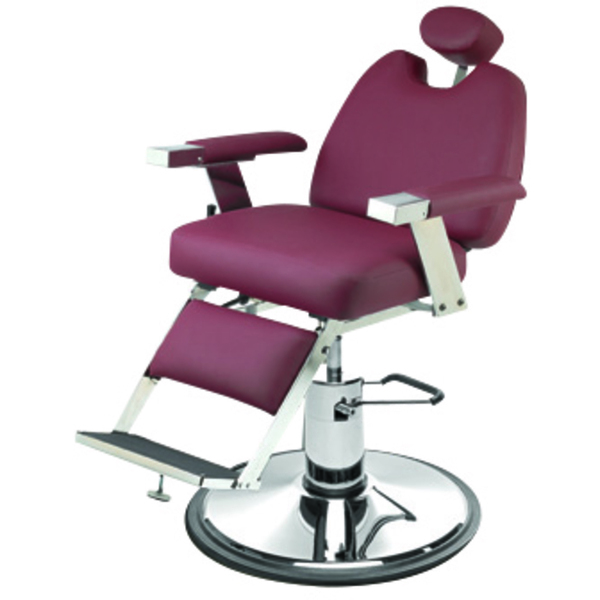 "Jr. Barber Chair with 27"" Base Heavy Duty Hydraulic Pump (657)"