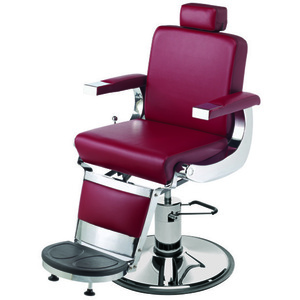 "Barbiere Barber Chair with 27"" Base Heavy Duty Hydraulic Pump (658)"