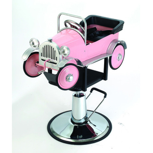 Pink Car Kid's Hydraulic Chair (1811)