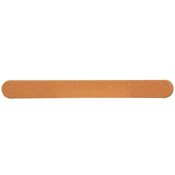 "Gold Board Files with Foam - 100180 Grit - 7"" x 0.75"" 50 Count Individually Wrapped (100234)"