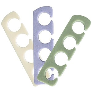 Value Plus Toe Separators Assorted Colors 120 Pair (100281)