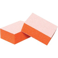 Baby Buffing Block 120 Grit Orange 20 Pack (100316)