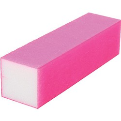 "Neon Buffing Block - 240 Grit - Pink 1""H x 1""W x 3.75""L 20 Pack (100320)"