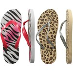 Women's Animal Print Flip-Flops 48 pairs (100433)