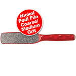 N8 Nickel Pedi File - CourseMedium Grit (100440)