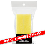 Ultra Gold Buffing Block - 240 Grit 2 Pack (100565)