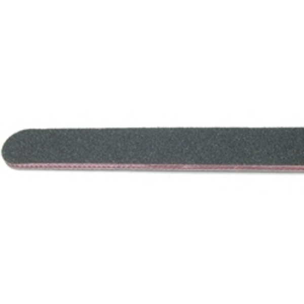 "STAR NAIL 80 grit Black File 7"" x 34"" 50-ct."