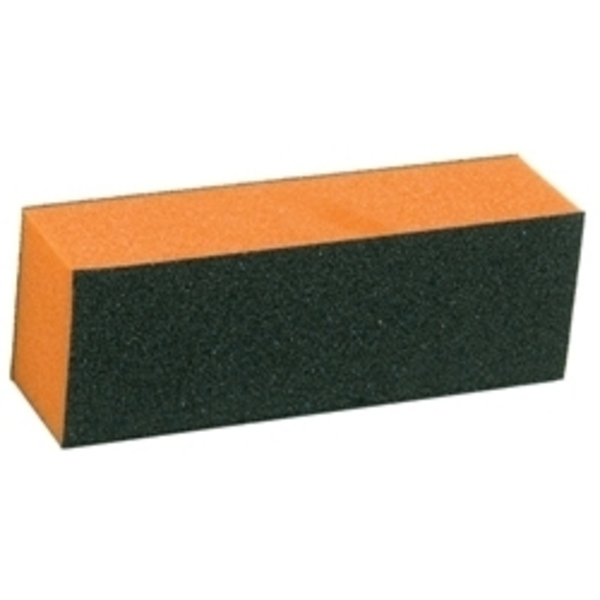 "STAR NAIL Sani-Blocks 4"" x 1"" Orange Med-Fine"