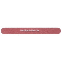 STAR NAIL 80 grit Red Tiflon Files Sanitizable 7