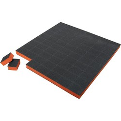 Pre-Cut Mini Block 100180 Black on Orange 1500 Count (104705)