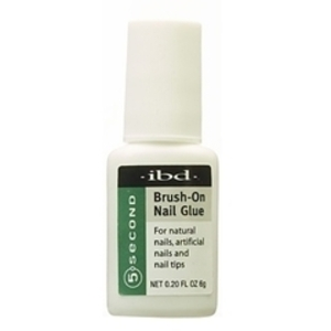 IBD 5 Second Brush-On Nail Glue 6 Grams (105070)
