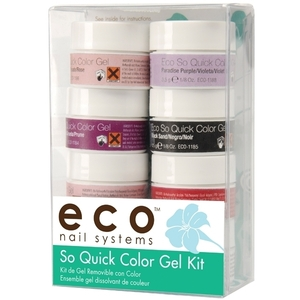 STAR NAIL Eco So Quick Color Gel Kit (106115)