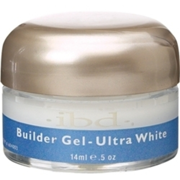 IBD Builder Gel Ultra White 0.5 oz. (106141)