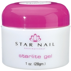 STAR NAIL Starlite UV Thick Gel - Clear 1 oz.