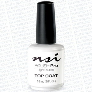 NSI Polish Pro Top Coat 0.5 oz. (106300)