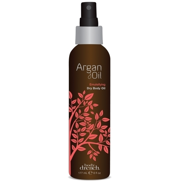Body Drench Argan Oil Emulsifying Dry Body Oil 6 oz. (109245)