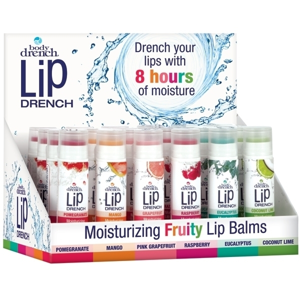 Body Drench Lip Drench Display 24 Count (109247)