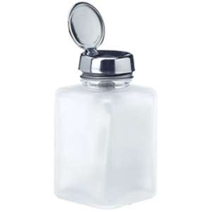 MENDA Frosted Clear Glass w Standard Pump 6 oz