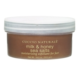 CUCCIO NATURALE Milk & Honey Sea Salts for Feet