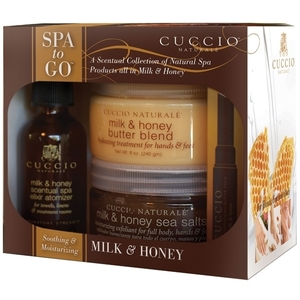 CUCCIO NATURALE Spa to Go Kit Milk & Honey (109845)