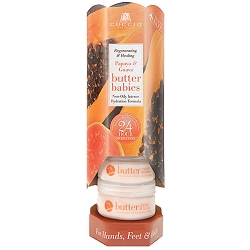 Cuccio Naturale Butter Babies Display Tower Papaya & Guava Nectar (109920)