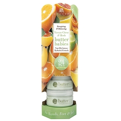 Cuccio Naturale Butter Babies Display Tower Tuscan Citrus Herb (109922)