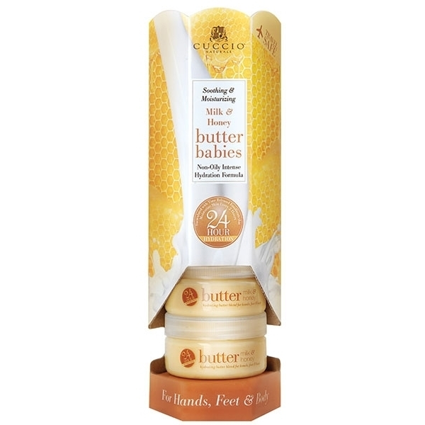 Cuccio Naturale Butter Babies Display Tower Milk & Honey (109924)