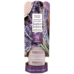 Cuccio Naturale Butter Babies Display Tower Lemongrass & Lavender (109925)