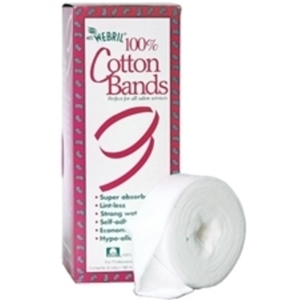 "MISS WEBRIL 100% Cotton Bands 15' x 1 14"" 6 R"