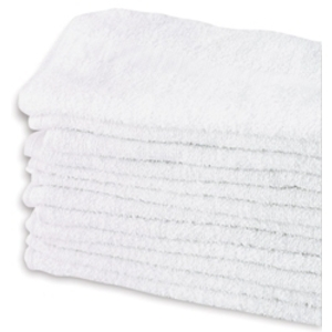 "PARTEX White Salon Towel 16"" x 25"" 12-ct."