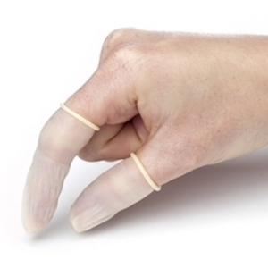 THE SAFETY ZONE Finger Cots 144-ct. Medium.