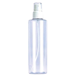 FPO Tableware Clear Bottle with Spray Pump 8 oz.