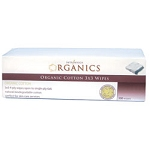INTRINSICS ORGANICS Organic Cotton 3x3 Wipes 200
