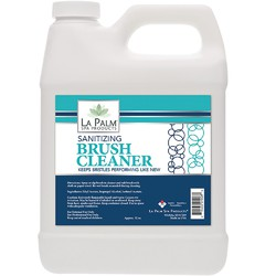 La Palm Products Sanitizing Brush Cleaner 32 oz. (140061)